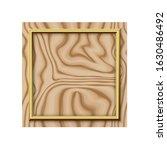 golden modern frame border... | Shutterstock .eps vector #1630486492