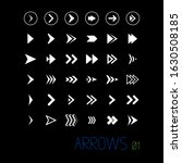 set of arrows and cursor icons. ...   Shutterstock .eps vector #1630508185
