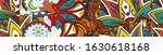 tracery seamless pattern.... | Shutterstock .eps vector #1630618168