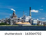 A Large Paper Mill Located On...