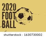 football 2020 typographical... | Shutterstock .eps vector #1630730002