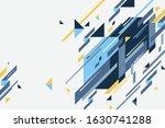 abstract diagonal geometric...   Shutterstock .eps vector #1630741288