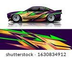 car decal design vector kit.... | Shutterstock .eps vector #1630834912