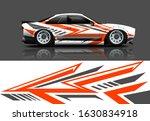 car decal design vector kit.... | Shutterstock .eps vector #1630834918