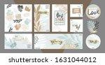 template for wedding ...   Shutterstock .eps vector #1631044012