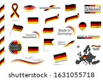 big vector set of german...   Shutterstock .eps vector #1631055718