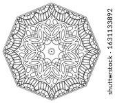 mandala isolated design element ... | Shutterstock .eps vector #1631133892