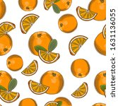 colored seamless pattern with... | Shutterstock .eps vector #1631136055