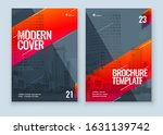 brochure design. a4 cover... | Shutterstock .eps vector #1631139742