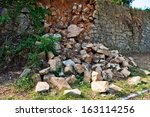 Broken Stone Wall After...