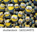 A Wall Of Cuddly Yellow Minion...
