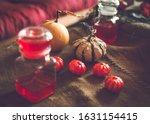 Halloween Decoration With Jars...