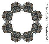 design vintage with frame... | Shutterstock . vector #1631247472