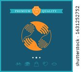 teamwork hands. human... | Shutterstock .eps vector #1631252752