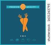 carrots symbol icon. graphic... | Shutterstock .eps vector #1631263795