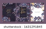 luxury wedding invitation ... | Shutterstock .eps vector #1631291845