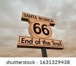 Santa Monica 66 End Of Trail...