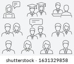 set of student icons  such as... | Shutterstock .eps vector #1631329858