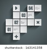 abstract squares background....