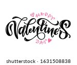 happy valentine's day   cute... | Shutterstock .eps vector #1631508838