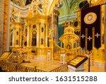 St. Petersburg  Russia January...