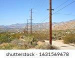 Californian Landscape Near The...