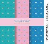 hand drawn love background ...   Shutterstock .eps vector #1631595262
