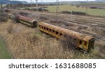 Abandoned Old Railway Wagons A...