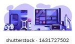online gaming horizontal banner ...