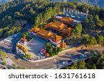 Aerial View Of Wenwu Temple At...