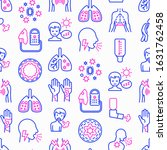 asthma seamless pattern with...   Shutterstock .eps vector #1631762458