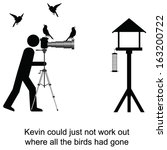 kevin could not understand... | Shutterstock .eps vector #163200722