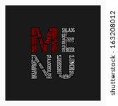 fashion restaurant menu card...   Shutterstock .eps vector #163208012