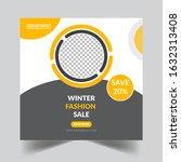 social media   social media... | Shutterstock . vector #1632313408