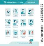 coronavirus travel advice and... | Shutterstock .eps vector #1632350872