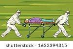 doctors take away a sick... | Shutterstock .eps vector #1632394315