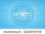 trump water concept badge....
