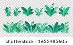 green grass. spring and summer... | Shutterstock .eps vector #1632485605