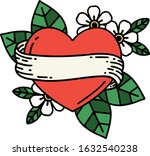 tattoo in traditional style of... | Shutterstock .eps vector #1632540238