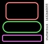 neon sign of bright colors.... | Shutterstock .eps vector #1632660055
