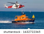 Coastguard And Lifeboat...