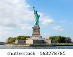 The Statue Of Liberty In New...
