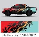 truck decal graphic wrap vector ... | Shutterstock .eps vector #1632874882