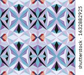 seamless colourful pattern... | Shutterstock .eps vector #1632882925
