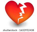 heat break  isolated gradient... | Shutterstock . vector #1632952438