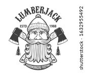Lumberjack Festival. Emblem...