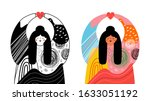 vector illustration set with... | Shutterstock .eps vector #1633051192