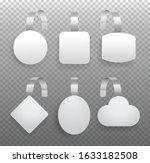 white wobblers. vector...   Shutterstock .eps vector #1633182508