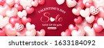 14 february happy valentines... | Shutterstock .eps vector #1633184092