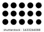 set of starburst badges icon.... | Shutterstock .eps vector #1633266088